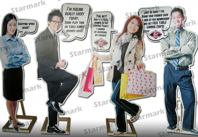 LIFESIZE STANDEES